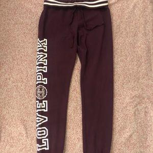 🌸 victoria's secret pink sweatpants / joggers 🌸